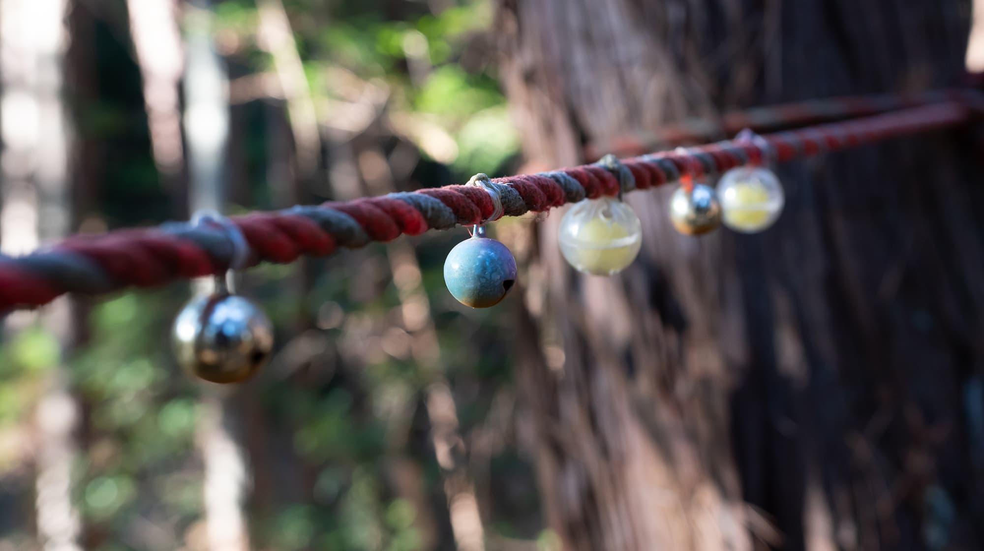 結界のロープ